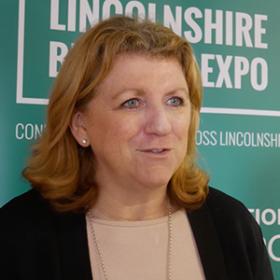 Sally Balcombe, CEO of Visit England
