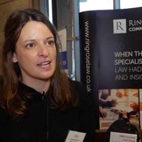 Alex Bennett, Marketing Manager for Ringrose Law